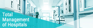 Total management of hospitals
